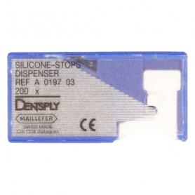 Dentsply Sirona Silicone-stop Dispenser Black (диспенсер + 200 шт) /Ref:A019700000300