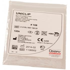 Dentsply Sirona Uniclip Burn Out Plastic Posts 108 (100 шт) /Ref:C215U00010800