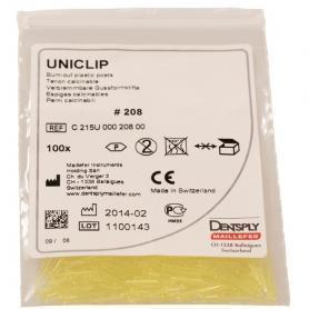 Dentsply Sirona Uniclip Burn Out Plastic Posts 208 (100 шт) /Ref:C215U00020800